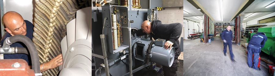 Generator commissioning, maintenance and troubleshooting